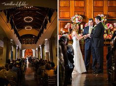 Woodland Fields Photography | Mission San Luis Wedding | Inside the hallway at Mission San Luis, Tallahassee