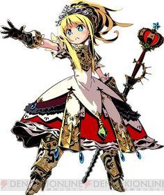 Etrian Odyssey Princess outfit