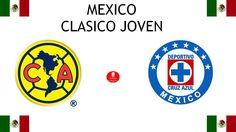 1964, Mexico (1er CLASICO JOVEN), Club América < > Cruz Azul #América #CruzAzul #Mexico (L5145) Club America, Fifa, Soccer Teams, Sports Logos, Football Match, Logo Design, My Favorite Things, Blue Cross, Sporty
