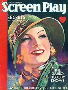 Screen Play, magazine cover on Flickr. Henry Clive