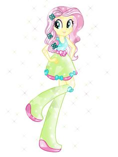 Finally finish itI did originally have another dress design for her, but I'll just use it for twilight or rainbow dash EG Crystal Fluttershy My Little Pony Dolls, All My Little Pony, My Little Pony Characters, My Little Pony Friendship, Mlp, Fluttershy, Rainbow Rocks, Rainbow Dash, Crystal Ponies