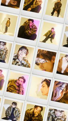 Foto Bts, Foto Jungkook, Bts Photo, Bts Taehyung, Bts Aesthetic Wallpaper For Phone, Bts Wallpaper, Magazine Vogue, Bts Polaroid, Bts Gifs
