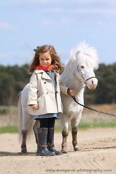 bewijs dat het niet uitmaakt hoe oud of groot je moet zijn op van paarden te houden