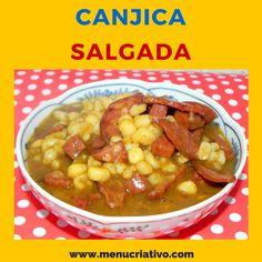 Canjica Salgada!   http://www.menucriativo.com/2015/09/canjica-salgada.html