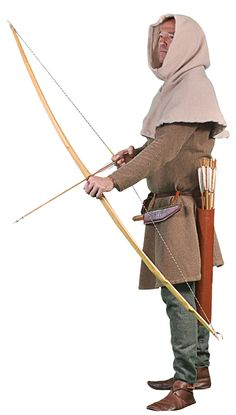 Costume of a Medieval archer by Georgina Gibson Medieval Archer, Medieval Fantasy, Medieval Clothing, Historical Clothing, Vikings, Medieval World, Traditional Archery, Medieval Costume, Arm Armor
