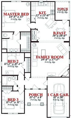 House Plan chp-43963 at COOLhouseplans.com