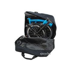 Carradice Folding Bike Carrying Bag - Suitable for all Brompton Models &…