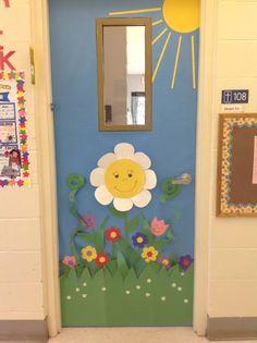 Spring Door Decorations Classroom Simple New Ideas Preschool Door, Preschool Crafts, Crafts For Kids, Class Decoration, School Decorations, Christmas Decorations, Classroom Door, Classroom Displays, Spring School