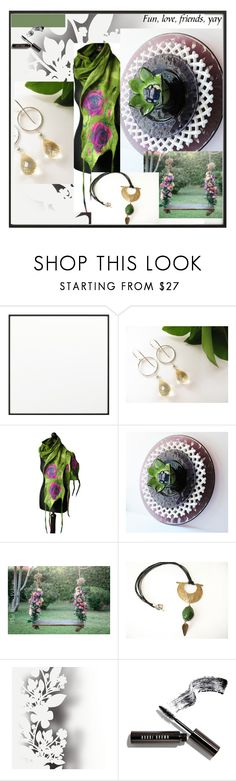 Moss Green by therusticpelican on Polyvore featuring Bobbi Brown Cosmetics, Élitis, By Lassen, modern, contemporary, rustic and vintage
