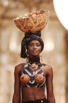 Kofi Ansah♥ A african Fashion Designer African Tribes, African Women, African Beauty, African Fashion, African Style, Beautiful Black Women, Beautiful People, Afrika Corps, Estilo Tribal