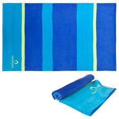 Wassersport_BikiniSandalenUVShirtStrandtücher Brillen, Gesundheit - Badetuch Basic L 145x85cm TRIBORD - Hygiene, Gesundheit