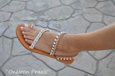 il_794xN.1789613546_n088 Pearl Sandals, Bridal Sandals, White Sandals, Sandals Wedding, Leather Sandals, Crystal Shoes, Ancient Greek Sandals, Designer Sandals, Natural Leather