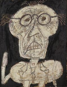 Jean Dubuffet, 'Monsieur d'hotel,' 1947, Richard Gray Gallery