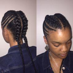 Braided ponytails @Short and sassy💃🏽 #lookgoodfeelgood #idratherrockshorthair #shorthair #shorthairdontcare #shorthairstyles #houstonhair #beautifulhair #houstonhairstylist #houstonsalon #realhair#happyhair #blackhair #hairspecialist #hairstylepatricemeetshair.