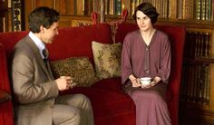 Charles Blake (Julian Ovenden) - - Lady Mary (Michelle Dockery) - - Downton Abbey, series four