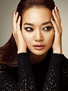 Shin Min Ah by Hong Jang Hyun for Allure Korea, August 2014