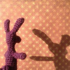 Crochet finger puppet