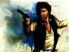Amazing Star Wars Watercolor Paintings [Gallery]