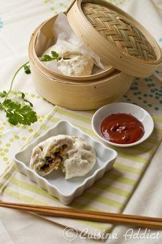 Banh Bao {Brioches vapeur Vietnamiennes farcies au Porc} - Cuisine Addict