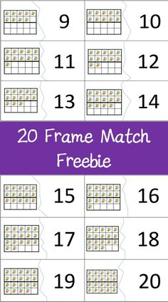 A fun and free way to give your students more practice with teen numbers and the basics of place value. From TheMathManiac Teen Numbers, Math Numbers, Math Lesson Plans, Math Lessons, Math Skills, Math For Kids, Fun Math, Math Stations, Math Centers