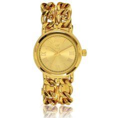 Relogio Feminino caixa e pulseira em aço prateada G
