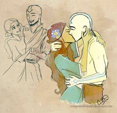 I can't be the only one who wants a version of Avatar where they are all grown up. And none of those silly flash backs in Korra either! I mean FULL episodes!