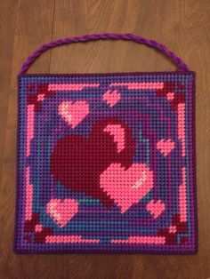 Valentine's Day Hearts wall hanger
