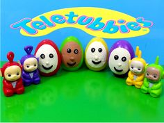 Surprise Eggs Play Doh Teletubbies Toys Unboxing