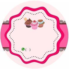 Logo Doce, Dessert Logo, Baking Wallpaper, Cupcakes Wallpaper, Baking Logo, Cupcake Logo, Bakery Business Cards, Cake Logo Design, Cake Illustration