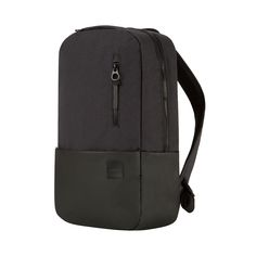 The Compass Backpack is less but better. Designed with clean lines and smooth details, it's constructed from durable, heavy duty polyester and features the expert functionality of a plush, padded MacBook Sleeve lined with faux-fur, document organizers for papers or an iPad, and quick access zipper pockets for smaller items. Easily adjust the padded, ergonomic shoulder straps made from breathable mesh for maximum comfort while commuting.