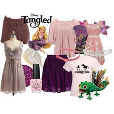 Gonna use this to help me plan for my Rapunzel outfit for Halloween ;)