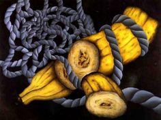 Antonio Henrique Amaral, Bananas and String 1974