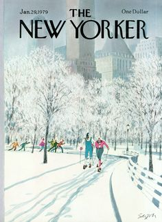 The New Yorker - Monday, January 29, 1979 - Issue # 2815 - Vol. 54 - N° 50 - Cover by : Charles Saxon