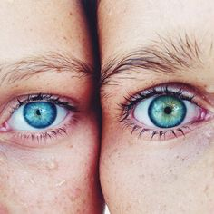Natural Body Art of Eye Color