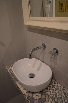 Πατητή τσιμεντοκονία σε εξοχική κατοικία. Εφαρμογή από τον Τάσο Νούνη. Δείτε το προφίλ του στο spitiexperts.gr