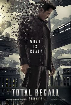 Total Recall with Colin Farrell, Kate Beckensale and Jessica Biel...oh yeah, SO seeing this. In theaters August 2012.