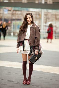 knee-high-socks https://www.facebook.com/MissOlinaFashion http://www.missolina.com/