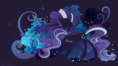 Nightmare Rarity Silhouette Wall by SpaceKitty on deviantART