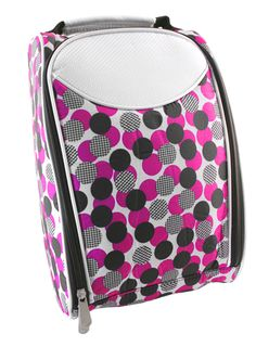 If you're looking for a new shoe bag to keep your golf shoes, Mod Polka Dot Hunter Ladies Shoe Bag is a great choice! #golf #accessories #lorisgolfshoppe