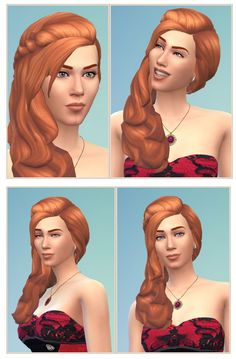 Jessica Hair at Birksches Sims Blog • Sims 4 Updates