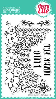 Canopy Stamp Set by Avery Elle on butterfly reflections ink website