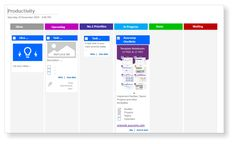 KanBan Task Board - Visualize your Tasks, To-Do's and Projects in OneNote - Templates for OneNote by Auscomp.com Onenote Template, Team Calendar, One Note Microsoft, 23 November, Priorities, Bar Chart, My Due Date, Boards, Templates