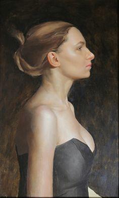 """Pearl Earing"" the Frankenstein project   Gregory Mortenson Fine Art"