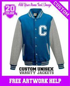 custom made personalised girls gifts baseball varsity jacket