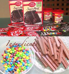 kit kat Cake Easy Recipe