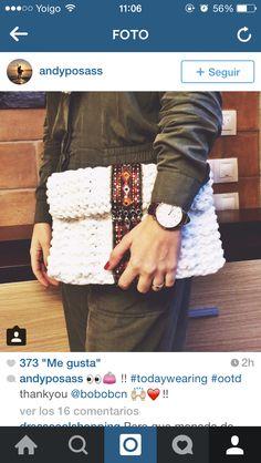 La instagramer Andrea Posas luciendo su BOBO