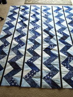 Quilt or Stitch? How about both?: Blue and White day :)