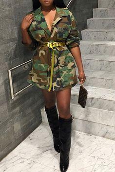Master Camouflage Outfit Ideas lovely trendy camouflage printed coat in 2019 fashion Master Camouflage Outfit. Here is Master Camouflage Outfit Ideas for you. Camo Fashion, Skirt Fashion, Teen Fashion, Womens Fashion, Fashion Trends, Fashion Types, Cheap Fashion, Fashion Hair, Fashion Photo
