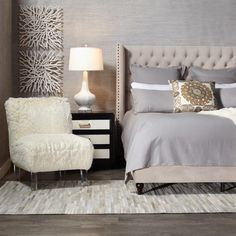A place to pause, unwind and get a chic night's sleep is a tap away! Shop the Upholstery Event to save on beds, chairs, benches, ottomans, and more to make your bedroom your zen room [link in bio to shop]