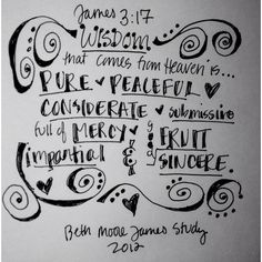 Love this Beth Moore study on James!